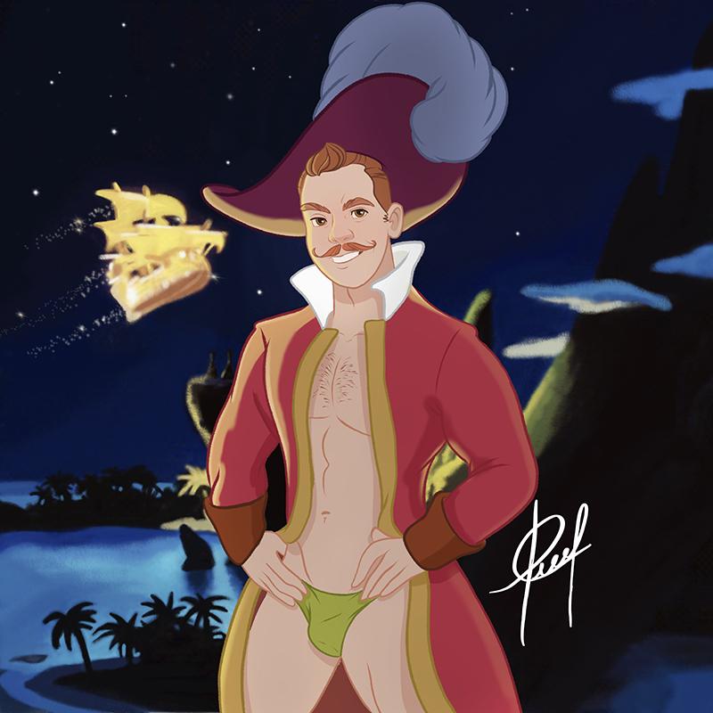 Captain Peter Hook
