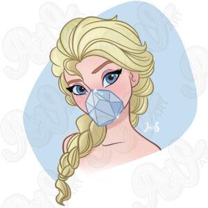 Mask Elsa